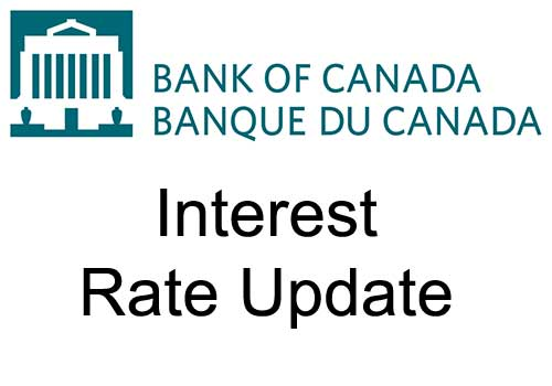 Bank of Canada maintains target for the overnight rate, scales back some market operations as financial conditions improve
