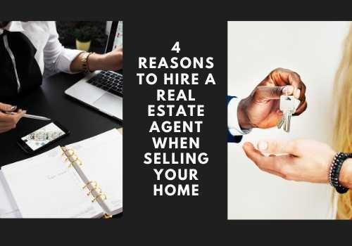 4 Reasons to Hire a Real Estate Agent When Selling Your Home in Toronto, Ontario