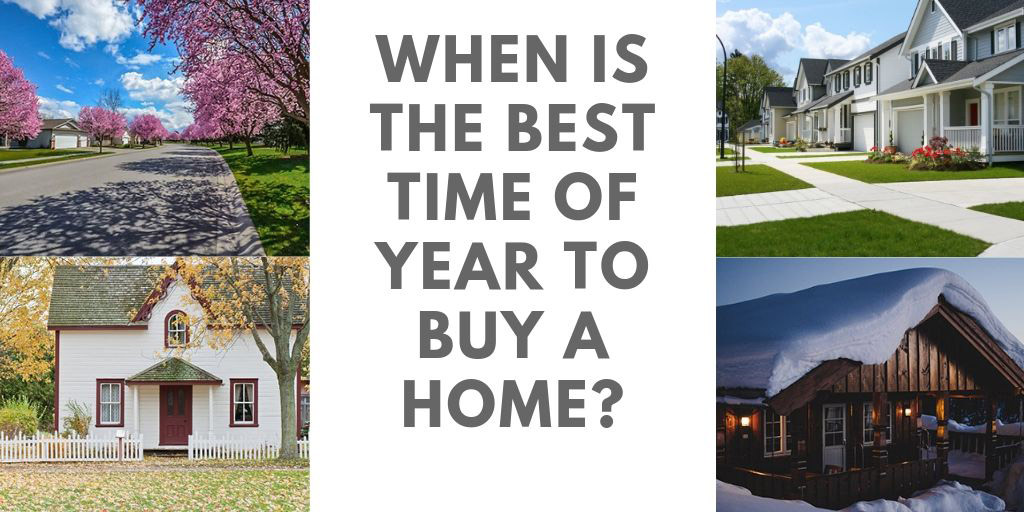 When is the Best Time of Year to Buy a Home in GTA, ON?